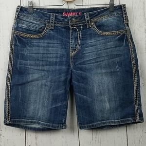 Cowgirl Tuff co. Jean shorts sample size 30